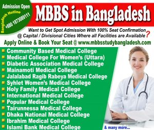 MBBS Admission in Bangladesh 2021-22